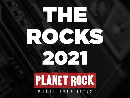 Planet Rock 'The Rocks' Awards!