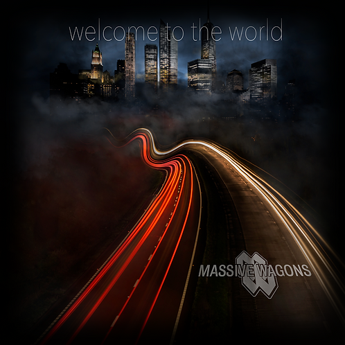 Welcome To The World CD (2016 Studio Album)
