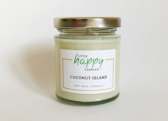 Coconut Island Candle