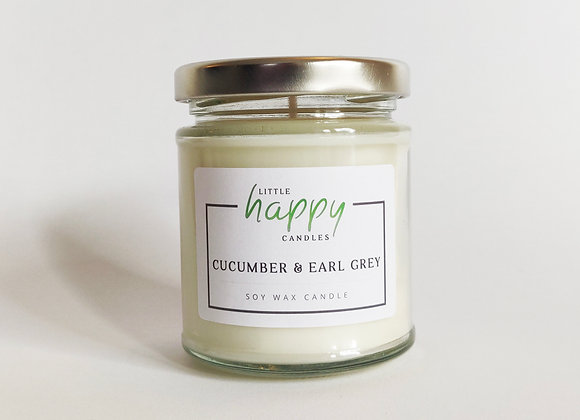 Cucumber & Earl Grey Candle