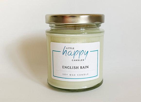 English Rain Candle