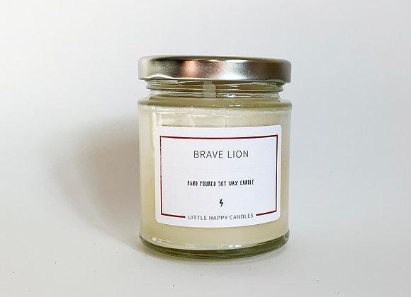 Brave Lion Candle
