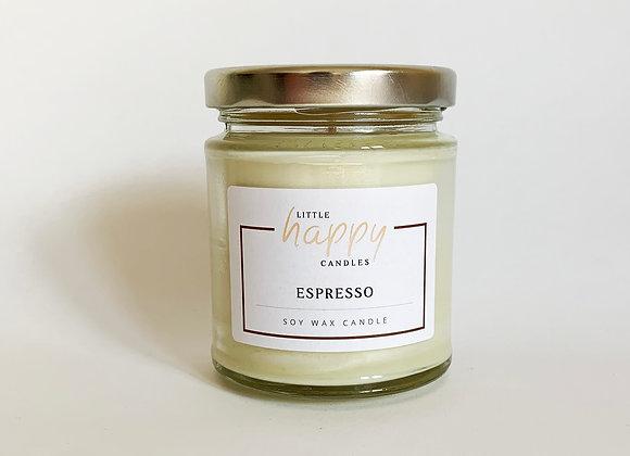 Espresso Candle