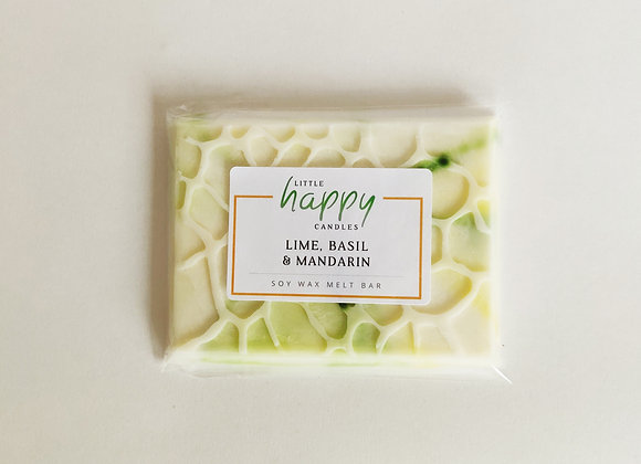 Lime, Basil & Mandarin Snap Bar