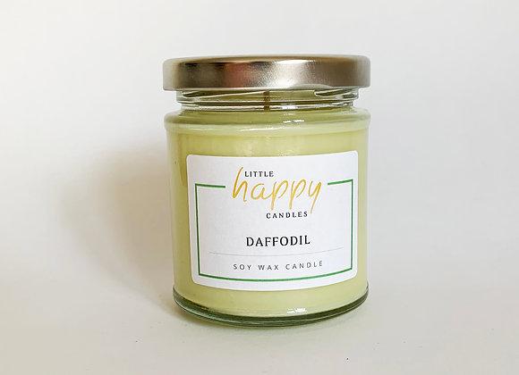 Daffodil Candle