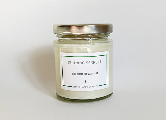 Cunning Serpent Candle