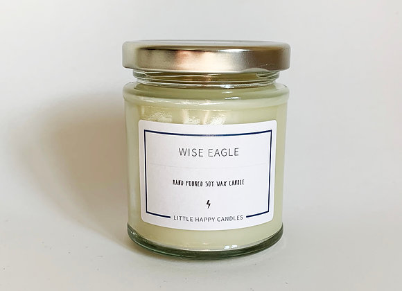Wise Eagle Candle