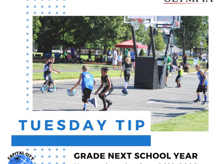 Tuesday Tip - Grade Next School Year