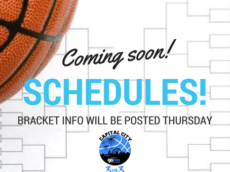 Schedules Coming Soon!