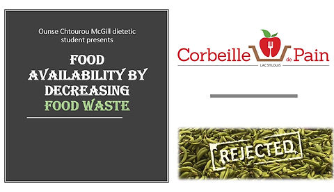 Food waste reduction gaspillage alimentaire