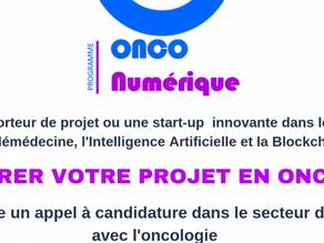 Appel à projet du programme OncoNumérique