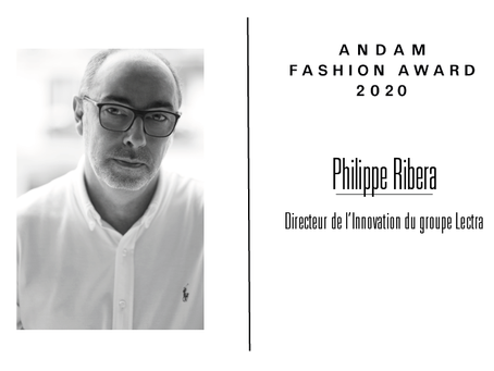 Interview de Philippe Ribera, membre du jury ANDAM Fashion Award 2020