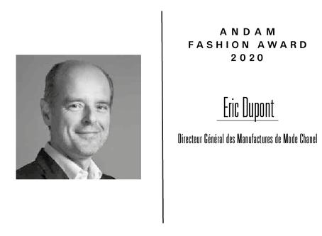 Interview d'Éric Dupont, membre du jury ANDAM Fashion Award 2020