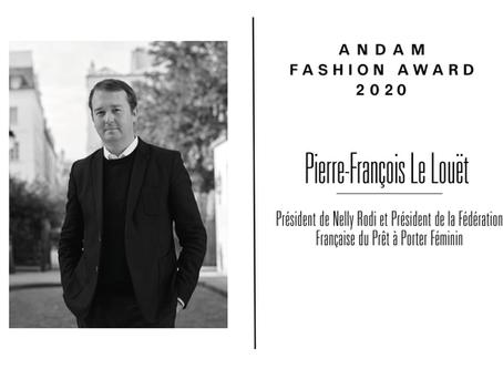 Interview de Pierre-François Le Louët, membre du jury ANDAM Fashion Award 2020