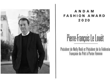 Interview de Pierre-François Le Louët, membre du jury ANDAM Fashion Award 2020