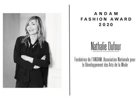 Interview de Nathalie Dufour, fondatrice de l'ANDAM et membre du jury ANDAM Fashion Award 2020
