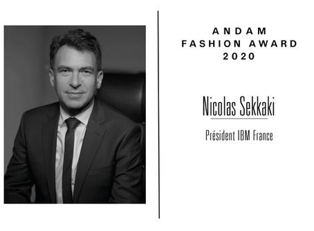 Interview de Nicolas Sekkaki, membre du jury ANDAM Fashion Award 2020