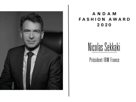 Interview de Nicolas Sekkaki, membre du jury ANDAM Fashion Award 2020