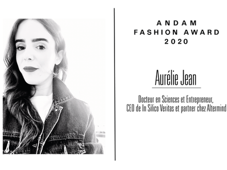 Interview d'Aurélie Jean, membre du jury ANDAM Fashion Award 2020