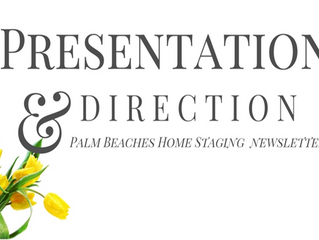 Presentation & Direction Newsletter