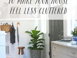Less Cluttered and More Freedom!