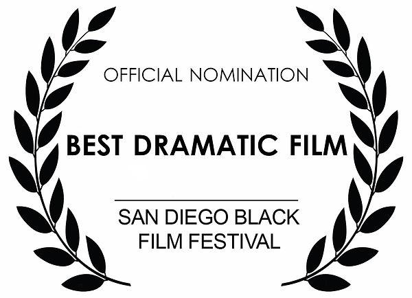 Jason Tong Dreamed Vengence San Diego Black Film Festival Award