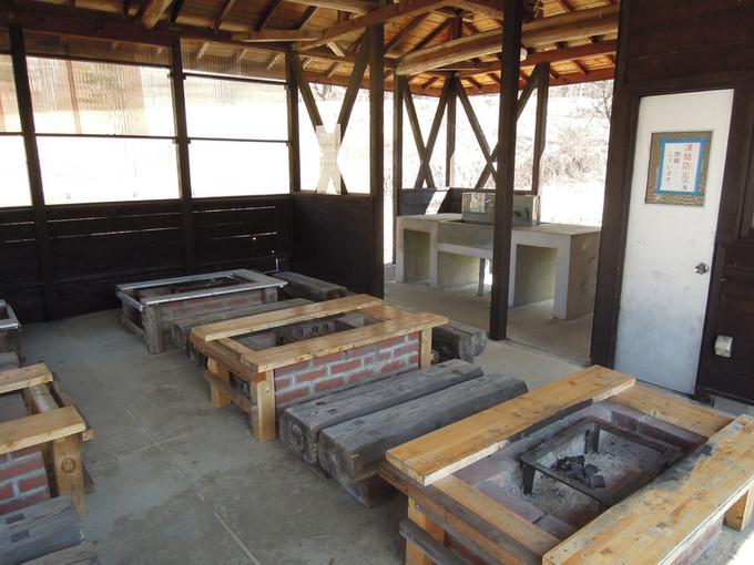 フィッシングエリア管理棟BBQ施設