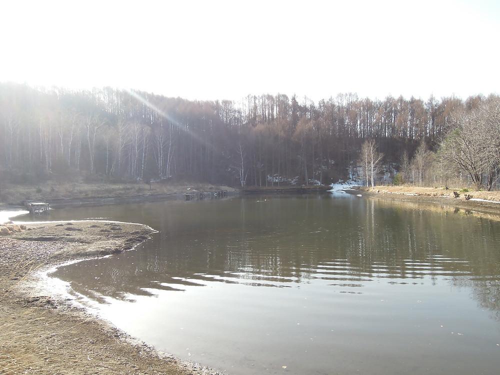 4月1日 1m以上水位が下がっています。