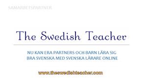 Nu kan era partners och barn förbättra sin svenska online med svenska lärare via Skype