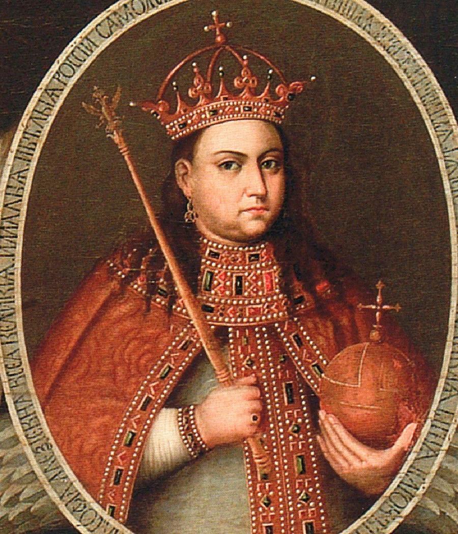 Царевна Софья Алексеевна - портрет