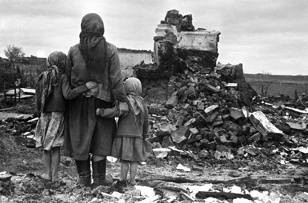 Война и дети: фото