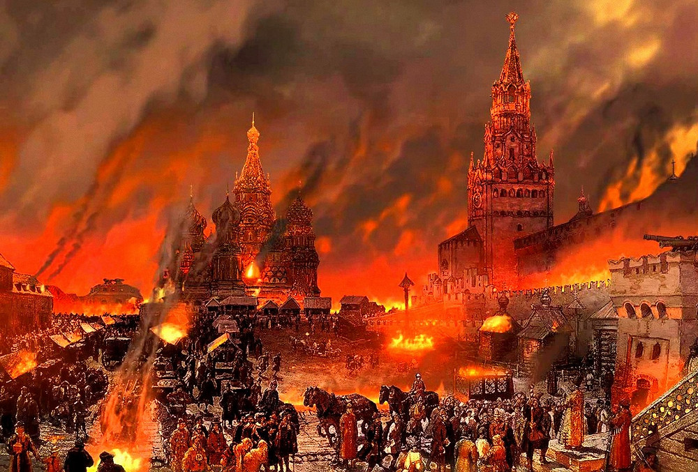 Пожар в Москве в 1626 году