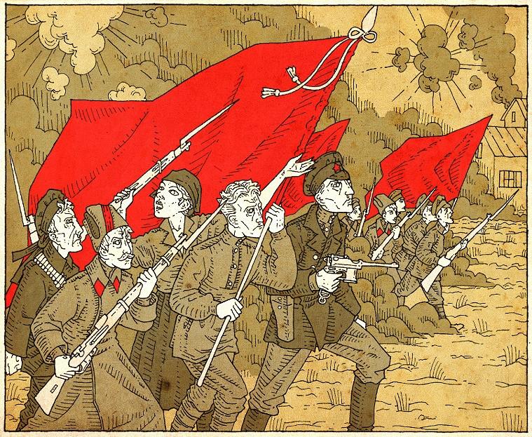 Красная армия, гражданская война