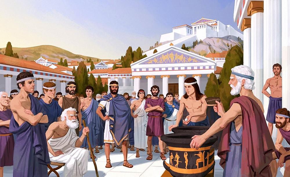 Древнегреческая демократия