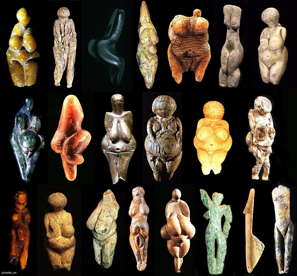 Венеры палеолита — примеры