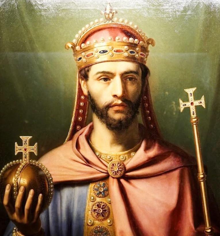 Портрет Карла Великого