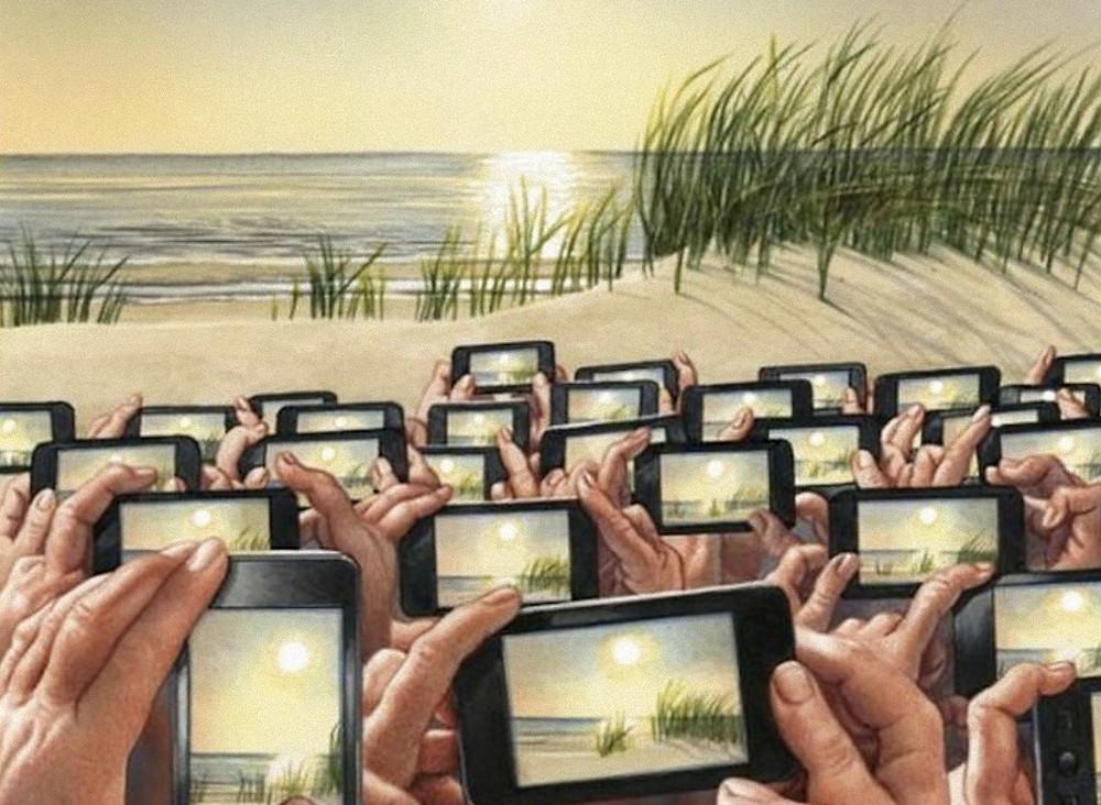 Проблемы современного общества, карикатура
