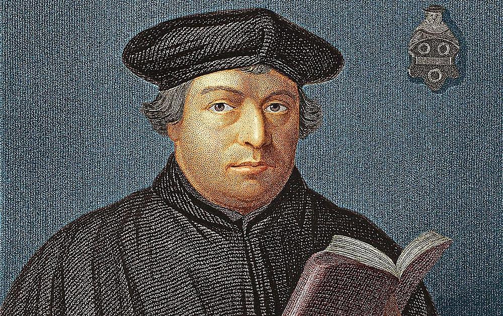 Мартин Лютер, христианский богослов