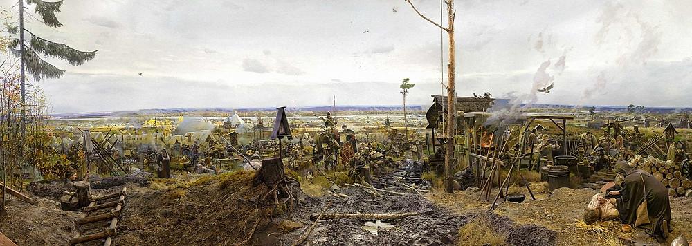 Диорама «Великое Стояние на реке Угре 1480 года»