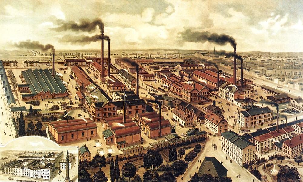 индустриальная революция во Франции