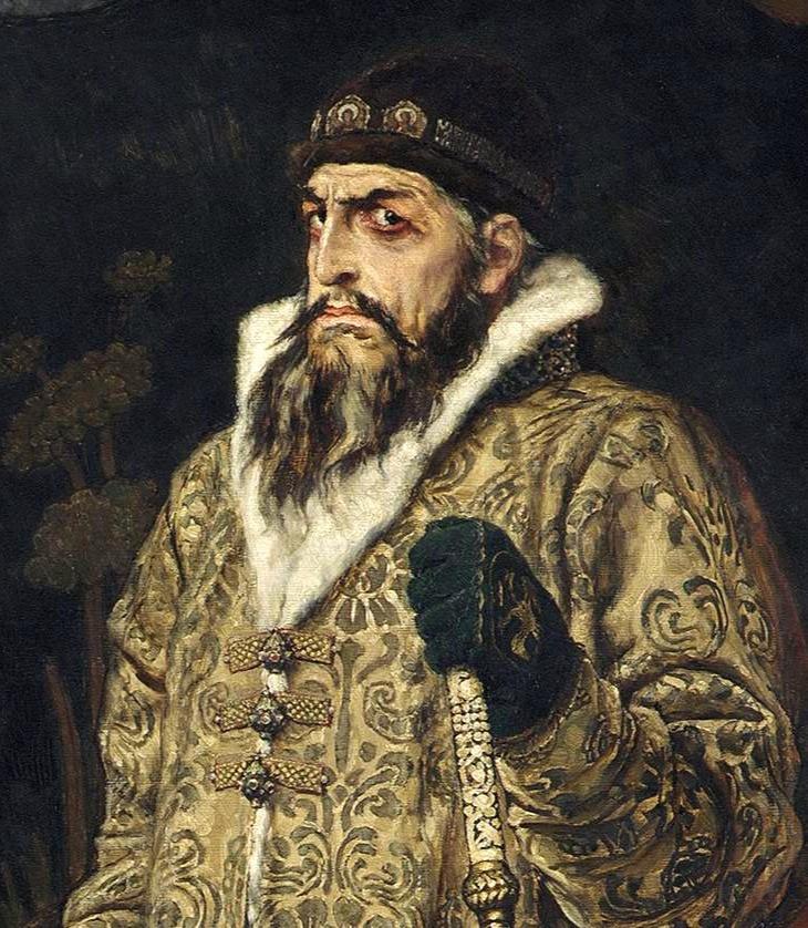 Царь Иван Грозный / В.М. Васнецов, 1897