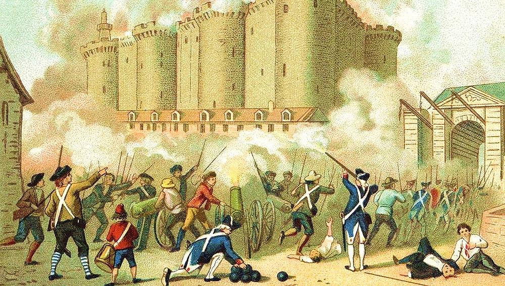 Штурм Бастилии 14 июля 1789 года