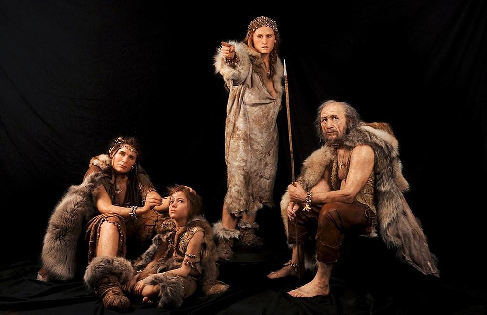 Первобытные люди Мадленской культуры