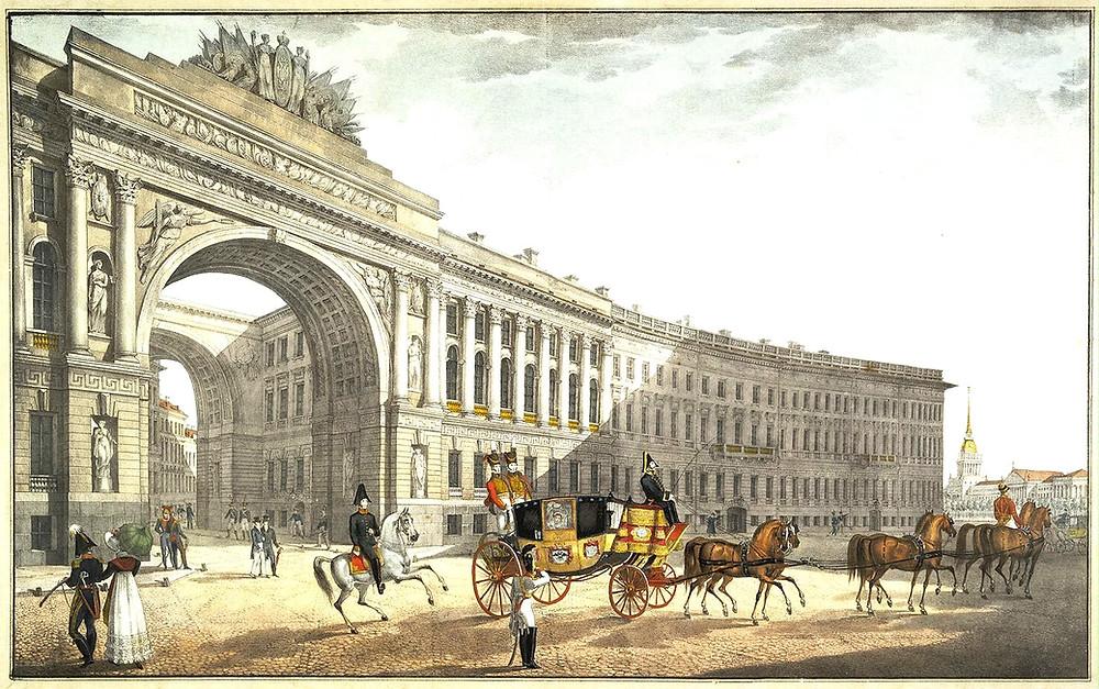 Россия в 19 веке (Санкт-Петербург)