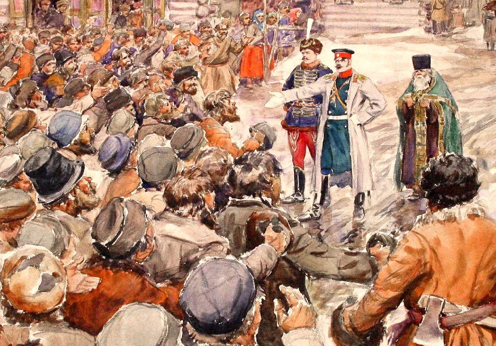 Картина московское восстание Соляной бунт