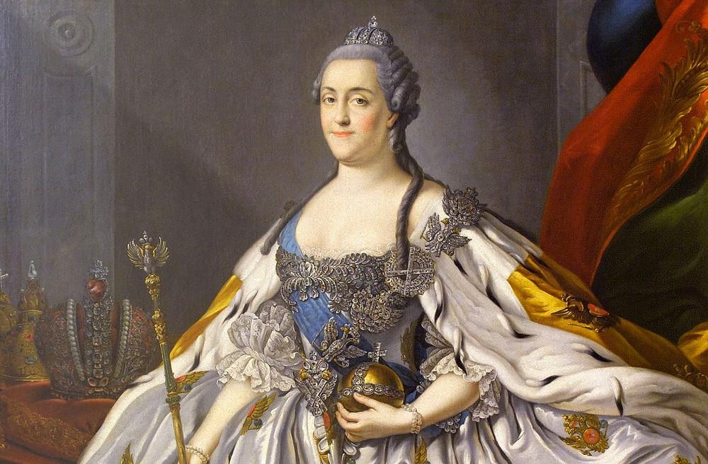 Екатерина II — портрет