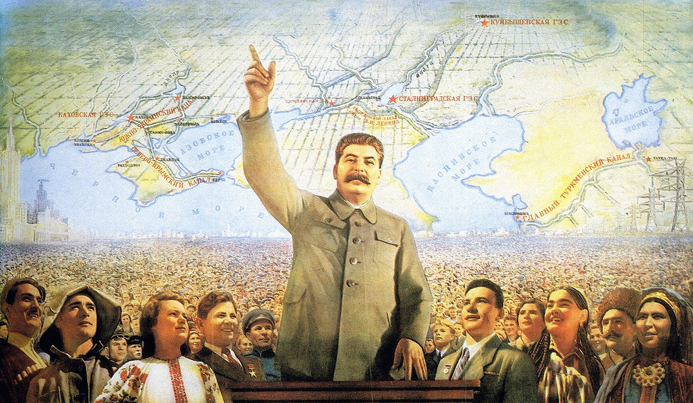 Отец народа, Сталин