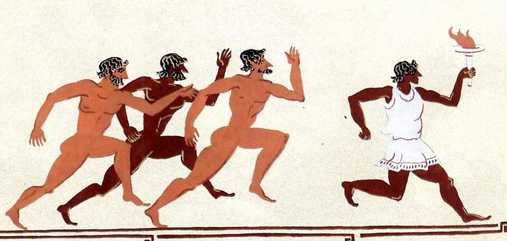 Олимпиада в Древней Греции, бег, лёгкая атлетика
