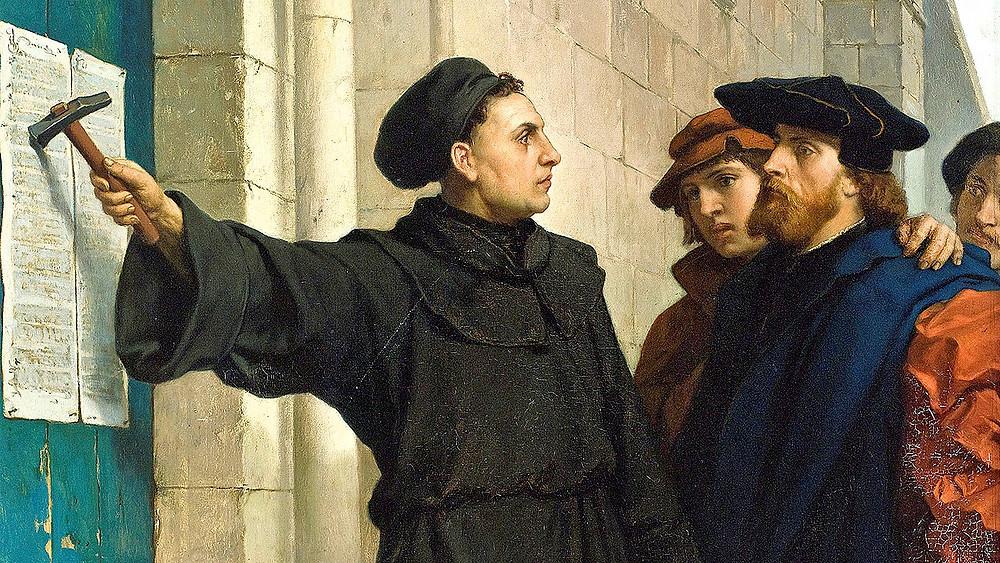 Мартин Лютер и его 95 тезисов