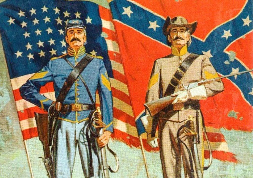 Союзники и Конфедераты: Гражданская война в США